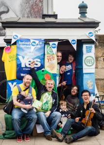 Folk music, fun kids and fab volunteers. Thanks to Graeme Cunningham for the pic.