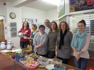 Fairtrade coffee morning in Biggar