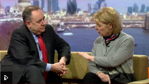 Alex Salmond and Anna Soubry