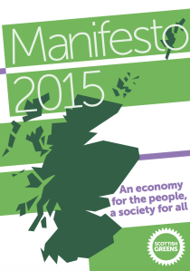Scottish Greens manifesto