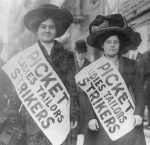 women on strike