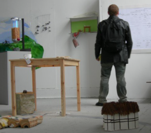 A view of my degree show