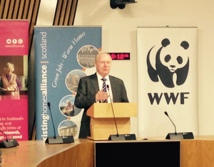 Alex Neil MSP sets out Scottish Government position on energy efficiency at ExHA reception