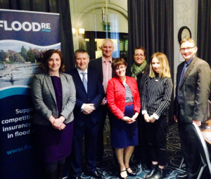 Meeting with Flood RE, alongside folk from Scottish Flood Forum, SEPA, insurance industry and politicians