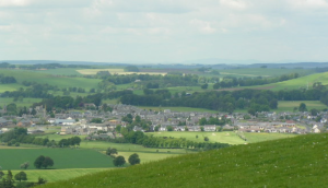 Biggar in rural South Lanarkshire