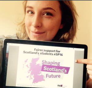 Backing NUS Scotland's campaign for better student support